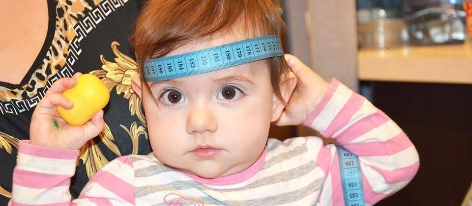 Таблица окружности головы ребенка по месяцам или как не ошибиться в размере при покупке шапки