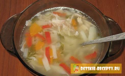 10 рецептов супов для детей от 1 года