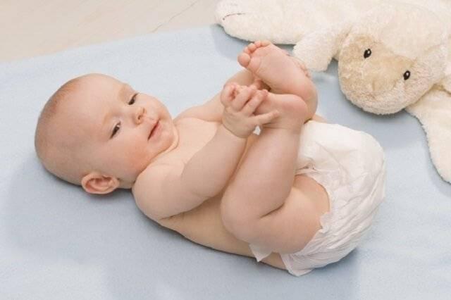 Колики у новорожденных и грудничков