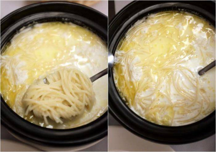 Готовим вкусный молочный домашний суп с добавлением вермишели