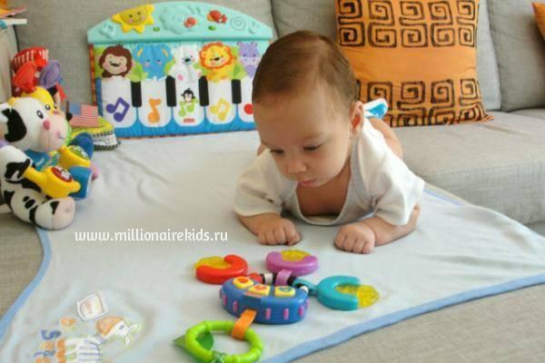 А чем вы развлекаете ребенка в 3 месяца? - запись пользователя анастасия (id2619945) в сообществе развитие от рождения до года в категории игры - babyblog.ru