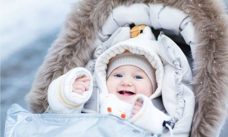 Сколько можно гулять с месячным ребенком зимой