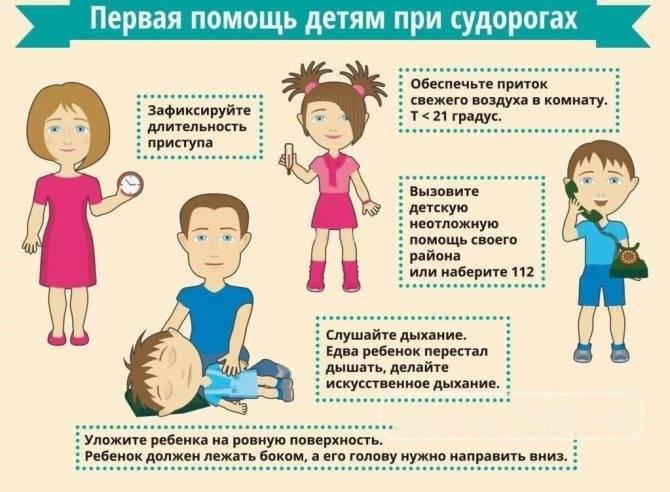 Судороги у ребенка при высокой температуре (фебрильные) – что это такое, что делать?