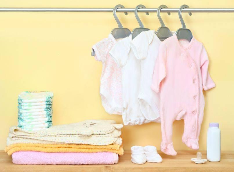 Что нужно ребёнку до года, полный список вещей