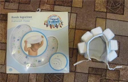 Шапочка для купания младенцев с пенопластом