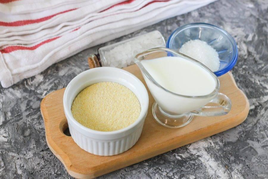 Как сварить кукурузную кашу грудничку на молоке для ребенка