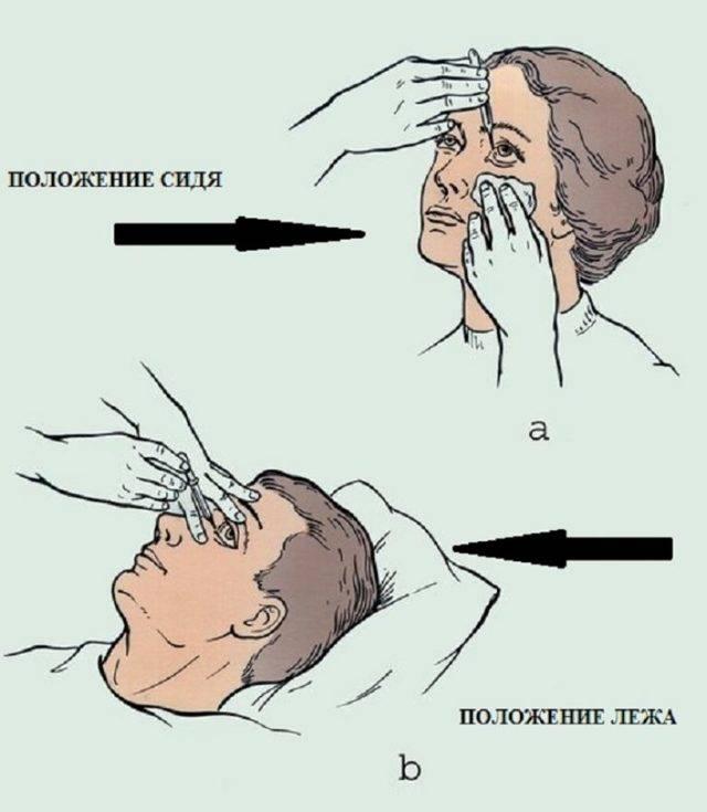 Как правильно капать капли в нос ребенку?