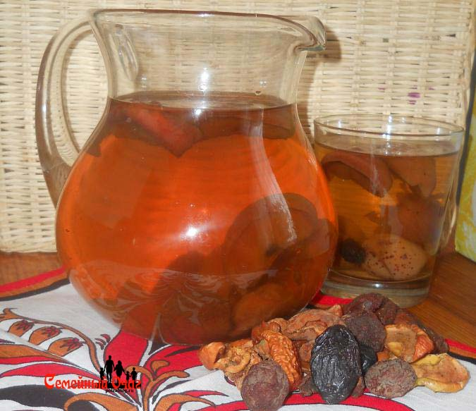 Компот из сухофруктов для грудничка – отличный витаминный напиток в холодное время года