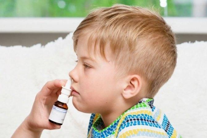 Лечение насморка у новорождённых