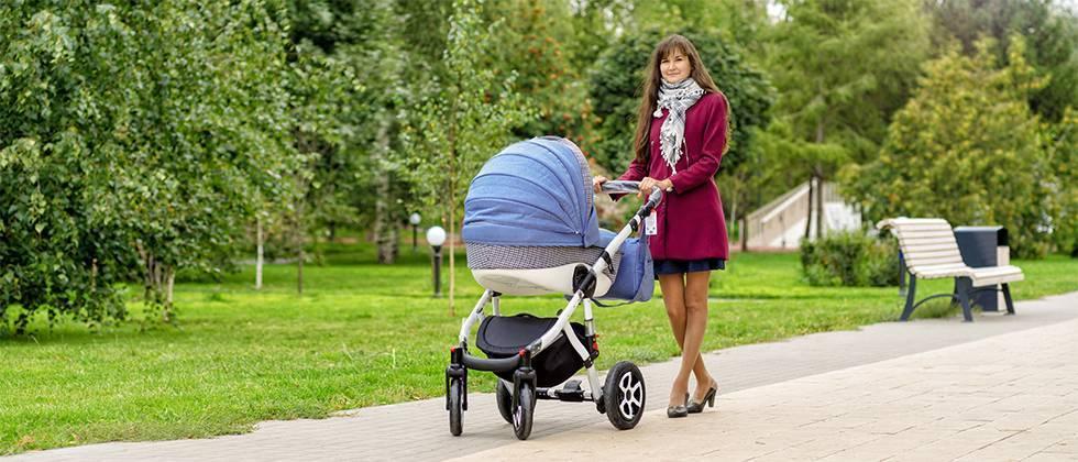 Хорошие коляски для новорожденных: топ лучших для зимы