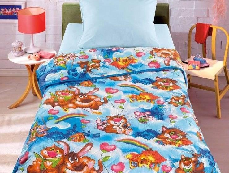 Размер одеяла в кроватку ??