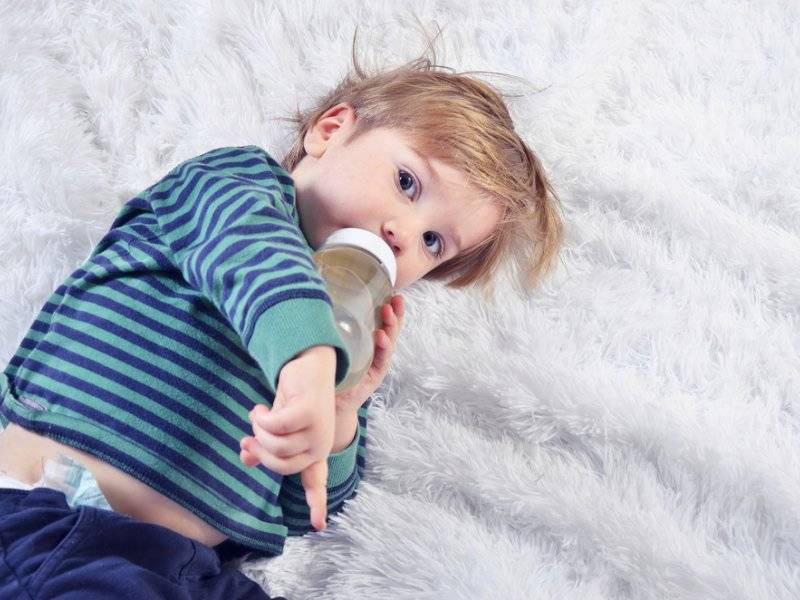 Как отучить ребенка от ночного кормления смесью и грудью