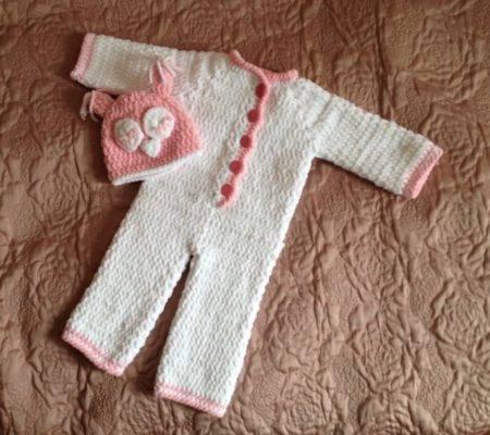 Комбинезон для новорожденных спицами, схема выкройка с описанием. схема вязания комбинезона 0-3. вязание для новорожденных
