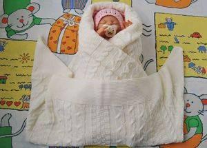 Как завернуть в одеяло новорожденного ребенка правильно