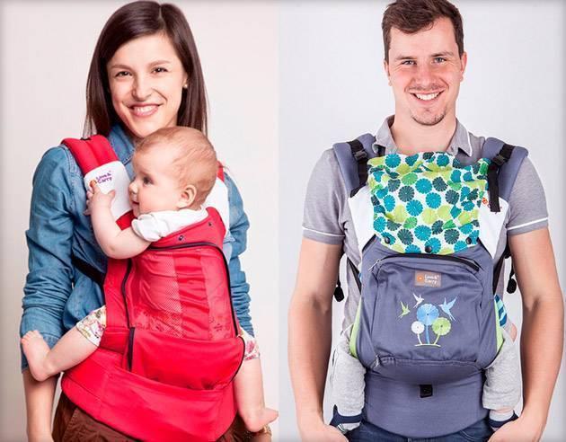 Эрго-рюкзак или «слинг-рюкзак» для новорожденных