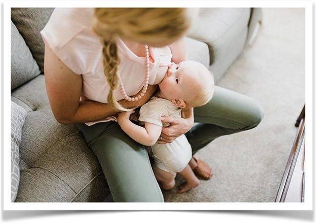 Выбираем подушку для кормления грудного ребенка или делаем своими руками