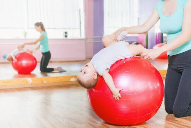 Лечебная физкультура для детей до 1 года — физиотера