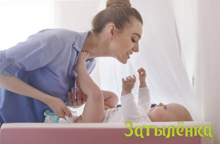 Запоры у 4-месячных детей: что делать если малыш не какает