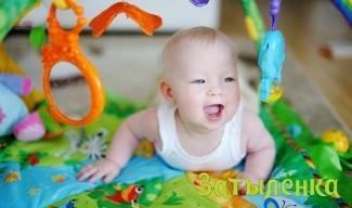 Развивающий коврик и зрение! - запись пользователя иришка (irinaspring) в сообществе развитие от рождения до года в категории товары - babyblog.ru