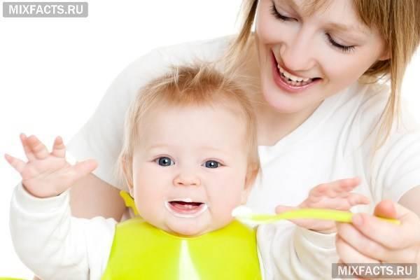 Питание 5 месячного ребенка на ив