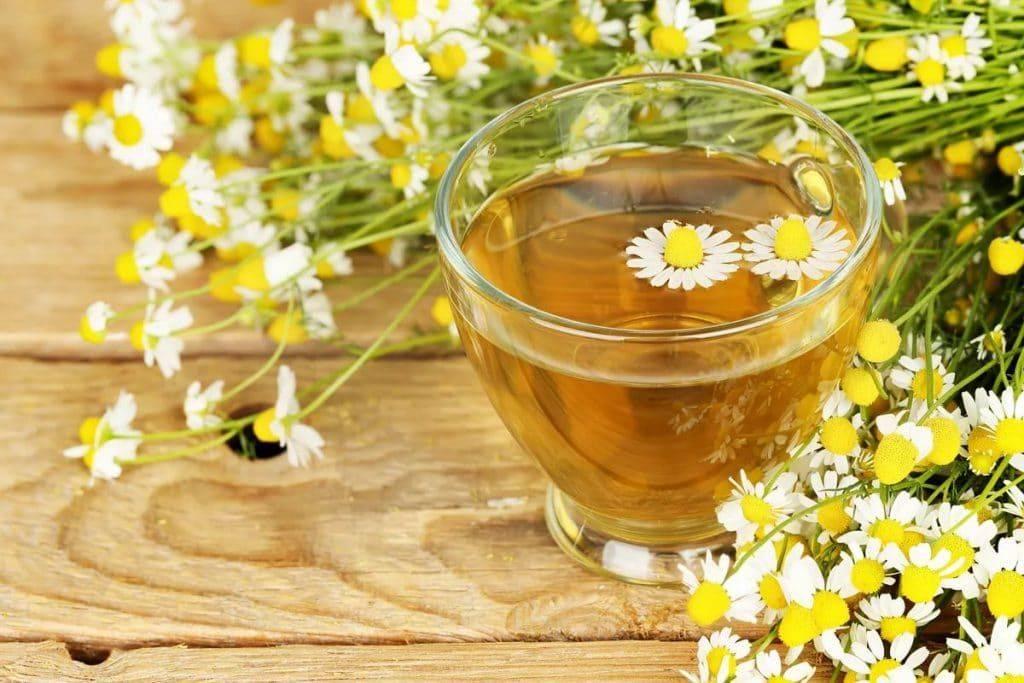 Ромашковый чай для грудничка: как давать, польза и противопоказания