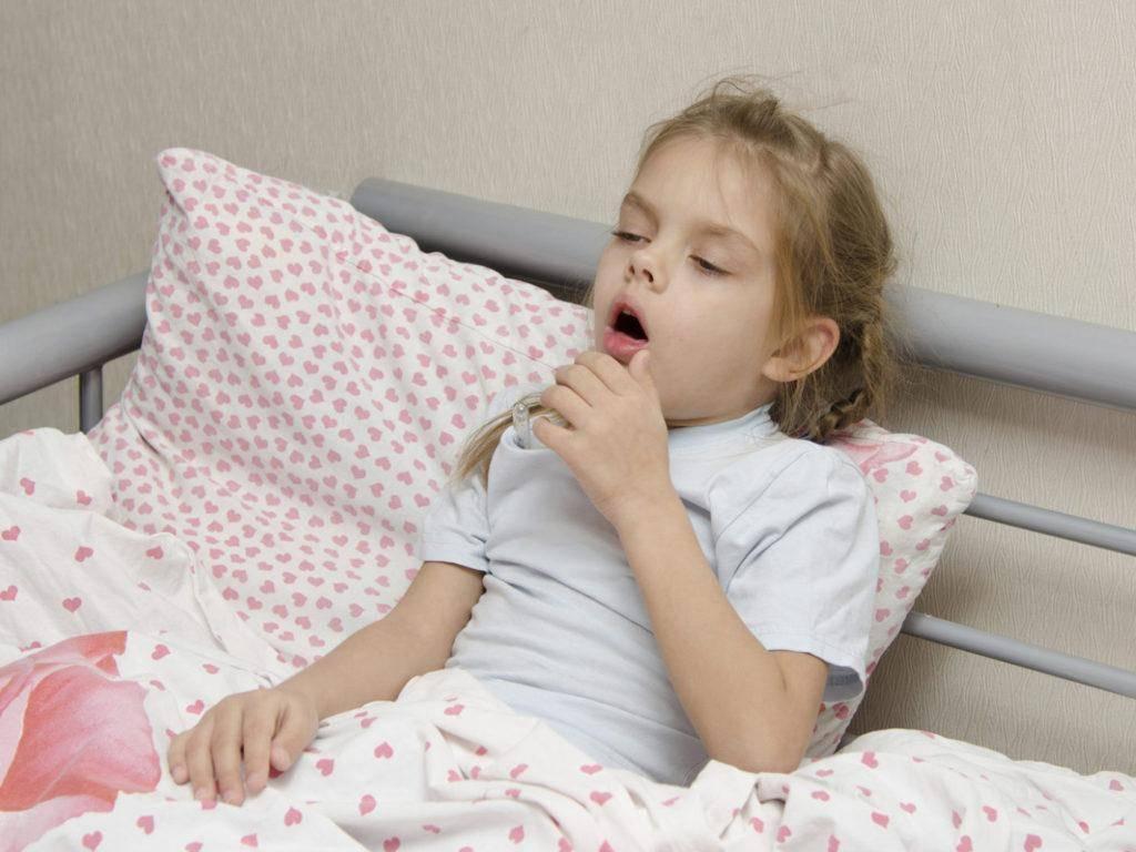 Как остановить бесконечный сухой кашель у ребенка