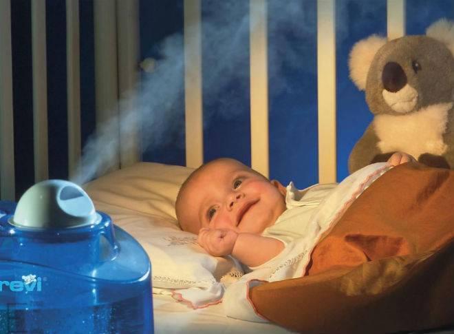 Какая должна быть влажность в детской комнате, как выбрать увлажнитель
