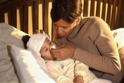 Чем лечить желтые сопли у ребенка
