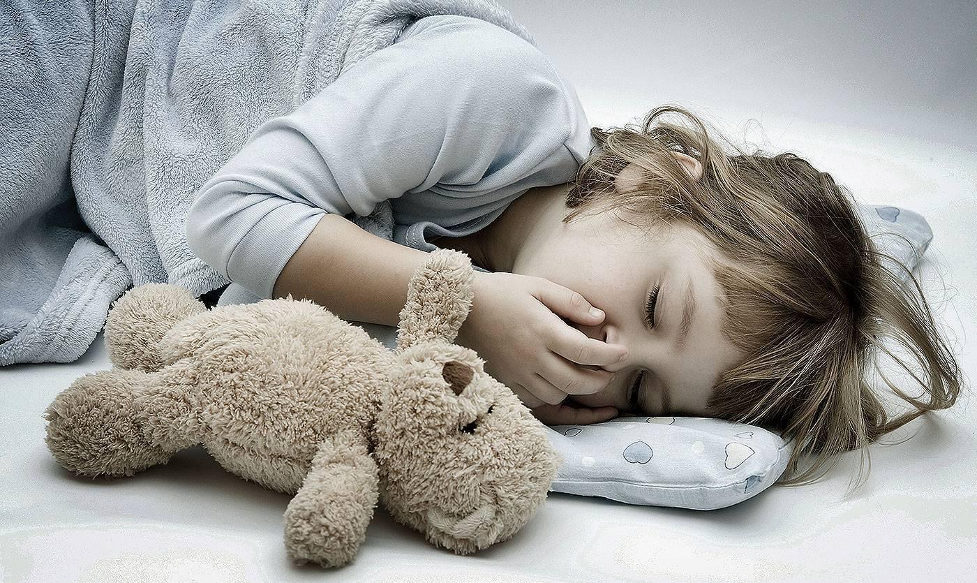 Ребенок долго спит