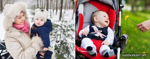 Можно ли гулять с ребенком на улице при кашле, кашель усиливается на улице