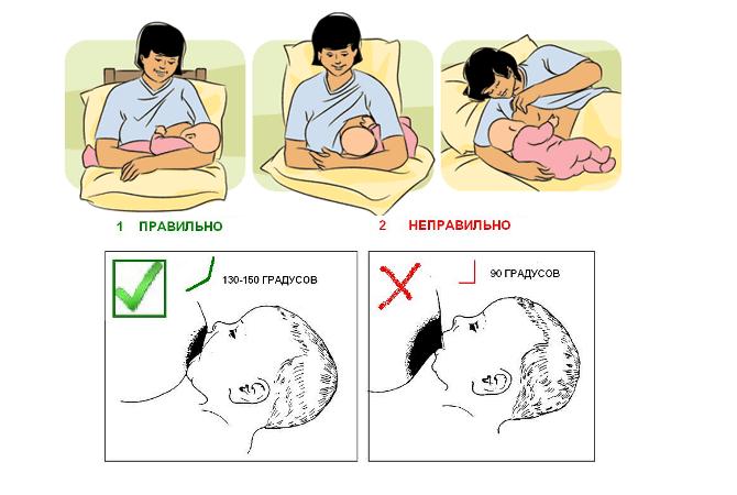 Все о вскармливании малыша - как наладить грудное вскармливание - самые удобные позы для кормления грудью