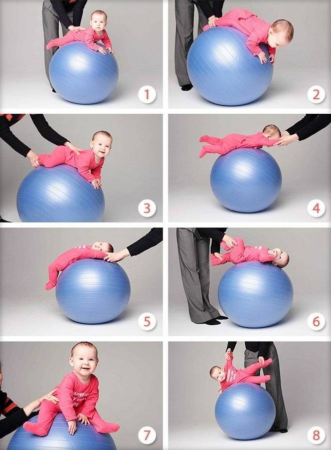 Гимнастика для 6 месячного малыша? - запись пользователя марина (kuuka) в сообществе развитие от рождения до года в категории хвастаемся - babyblog.ru