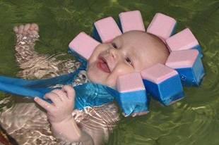 Шапочка для купания с пенопластом