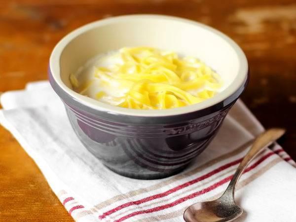 Рецепт приготовления молочного супа с картофелем и вермишелью