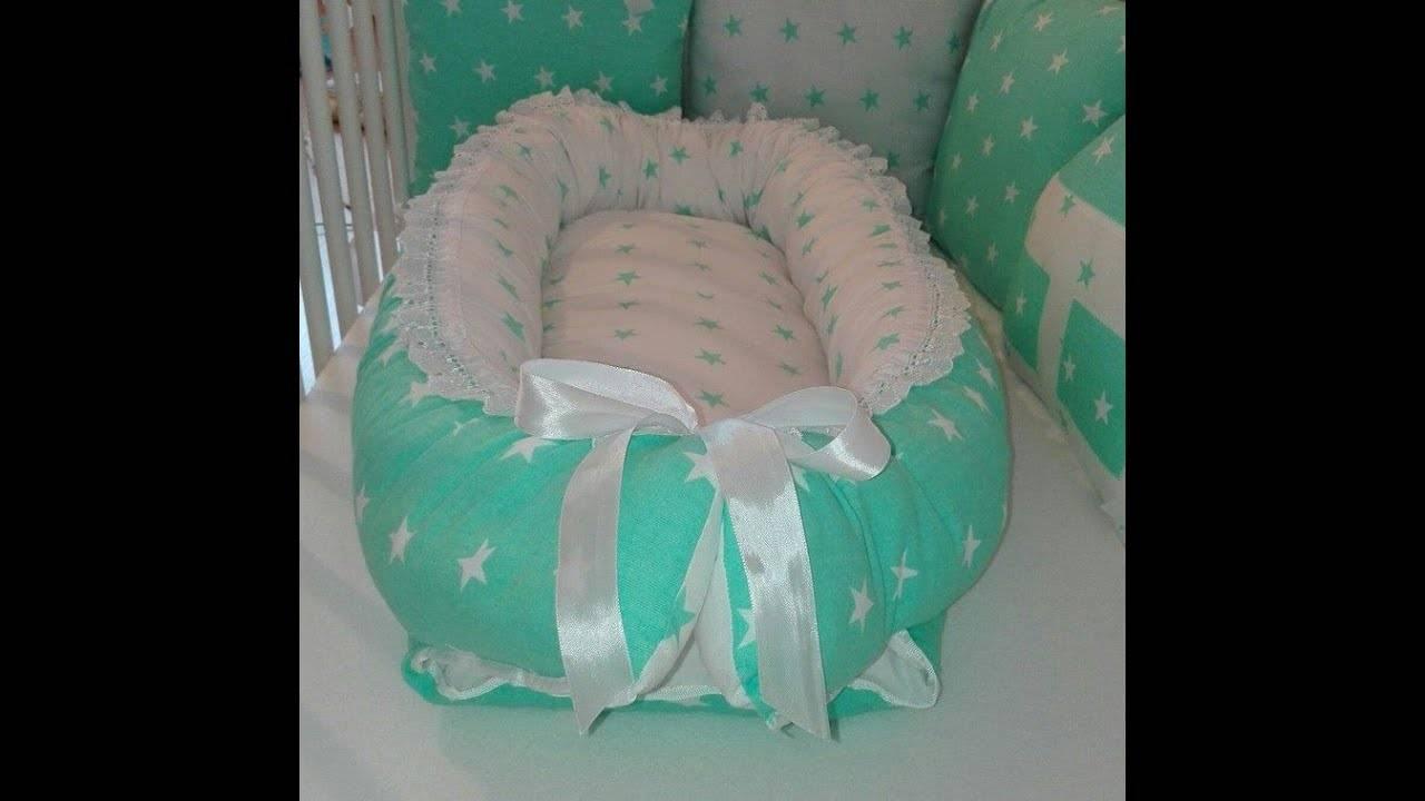 Кокон гнездышко для новорожденного малыша