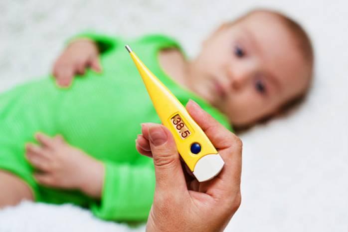 Как сбить температуру у ребёнка или взрослого