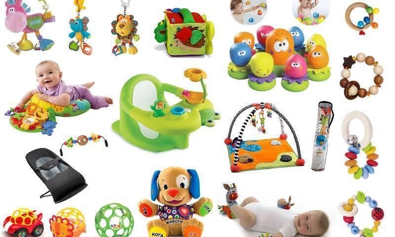 Какие игрушки нужны новорожденному?
