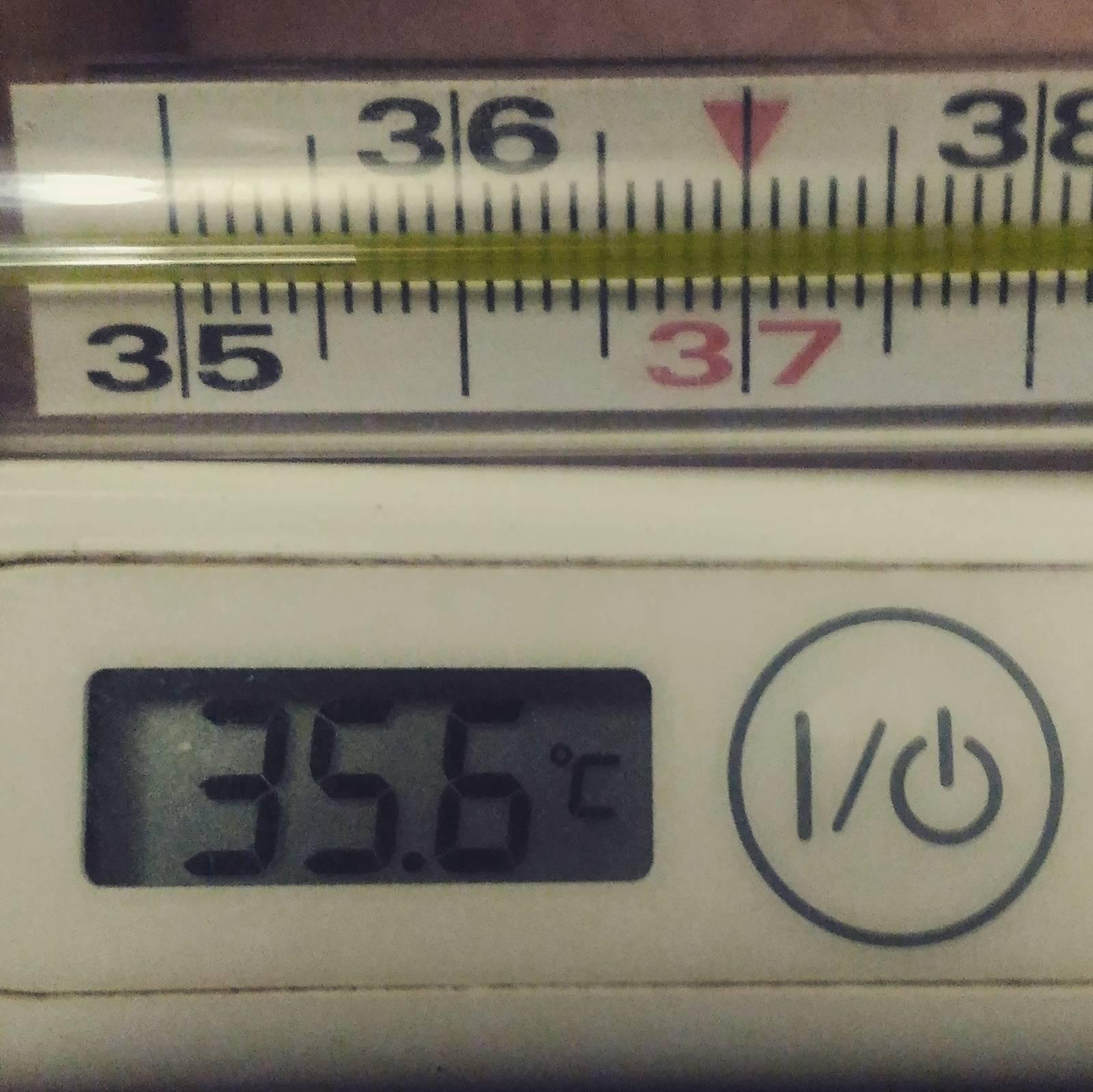 Температура 35,3 - это опасно?!!