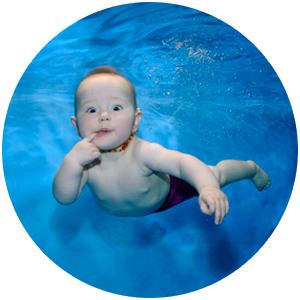 Обучение плаванию и нырянию малышей!