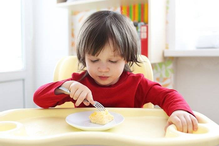 Омлет для годовалого ребенка — рецепты в мультиварке, духовке