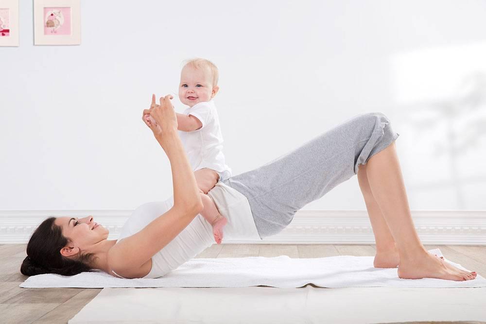 Как похудеть кормящей маме