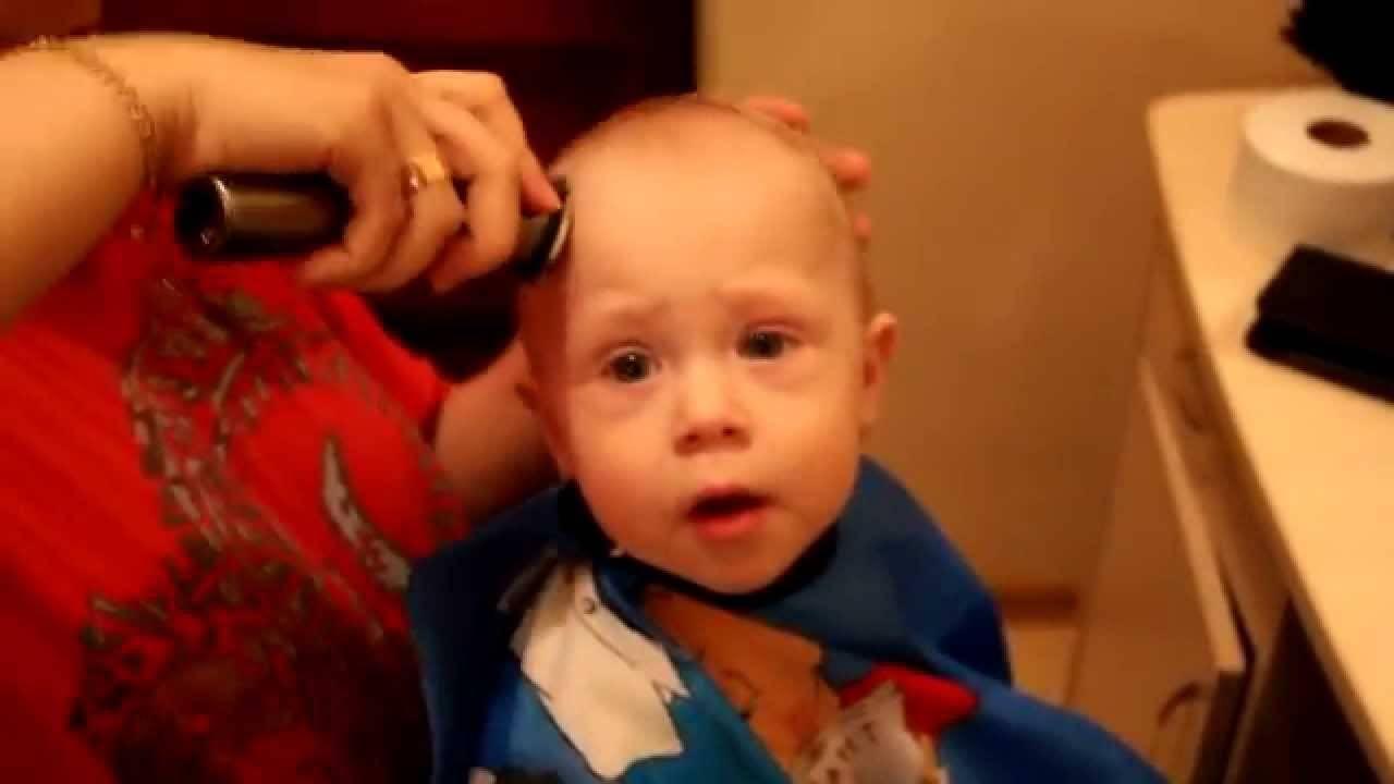 Стрижка 3-месячного младенца - запись пользователя виктория (id2672059) в сообществе развитие от рождения до года в категории внешность и красота - babyblog.ru