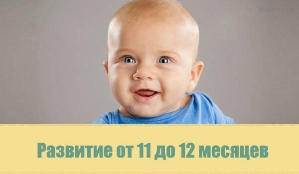 Развитие ребёнка от 1 года до 1 года и 3 месяцев