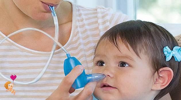 Лечение кашля, насморка у грудничков
