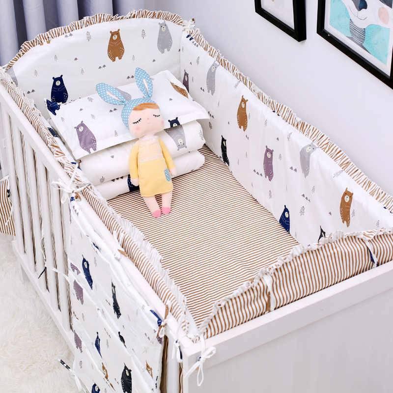 Топ-5 лучших комплектов в кроватку для новорожденного из 4, 6, 7 предметов: плюсы и минусы моделей