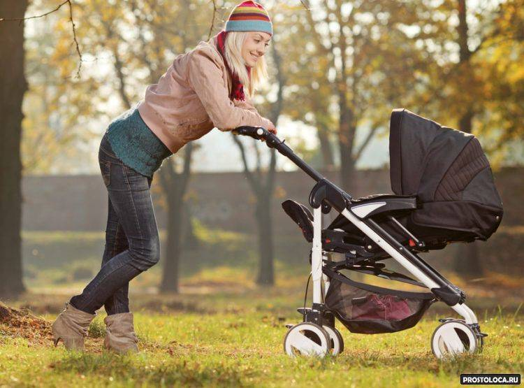 Как гулять с ребенком