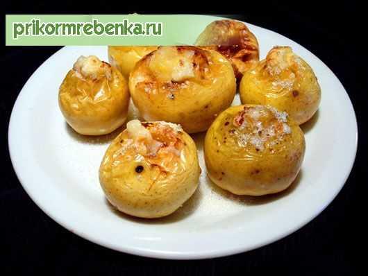Печеные яблоки для детей - пошаговый рецепт с фото