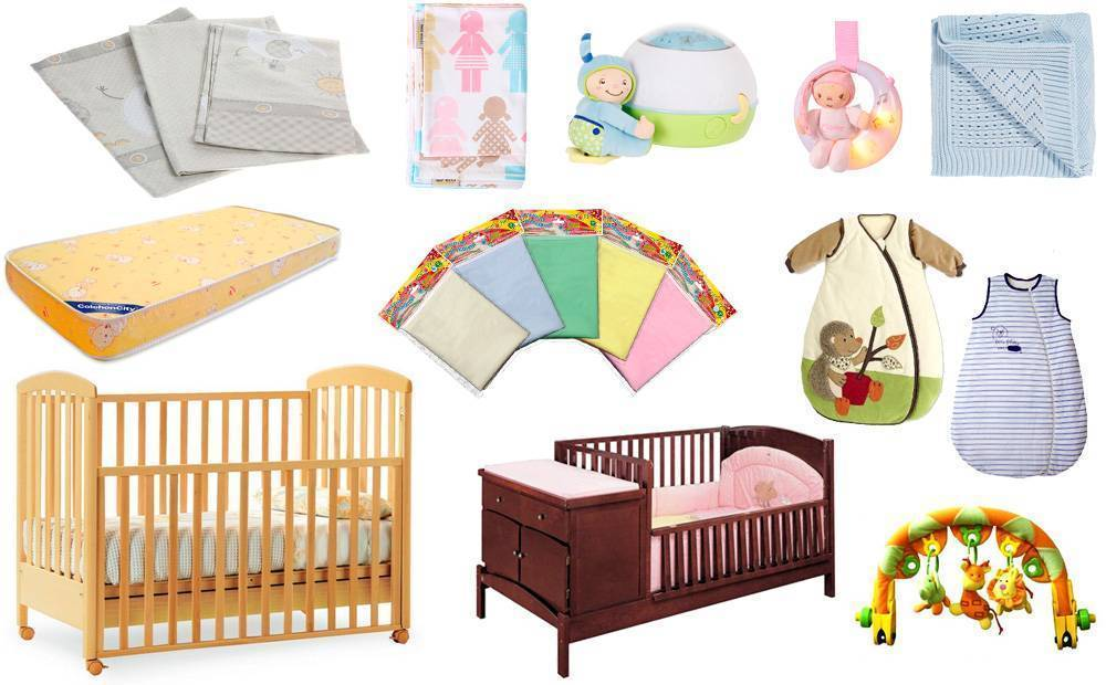 Список вещей для новорожденного ребенка