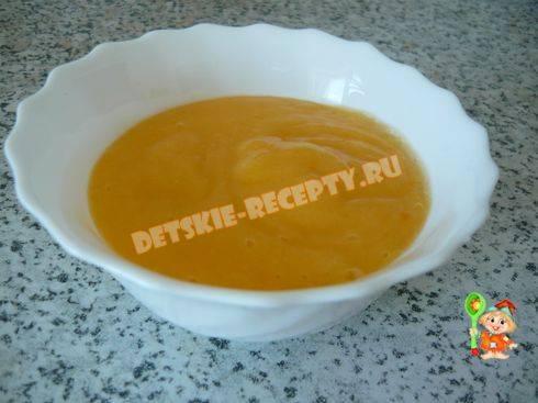 Морковное пюре для грудничка: рецепт приготовления