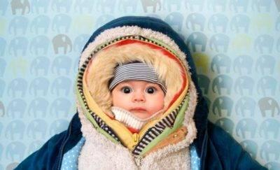 Зимние прогулки с ребёнком